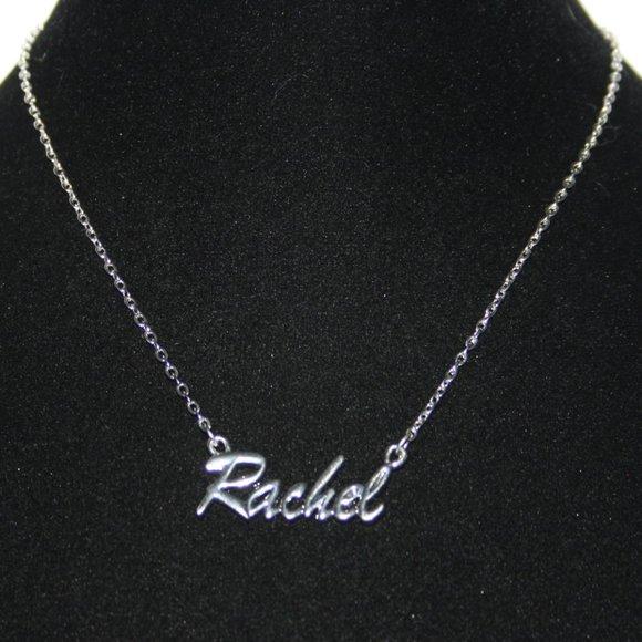 "Stunning like new Silver Rachel necklace 17"""